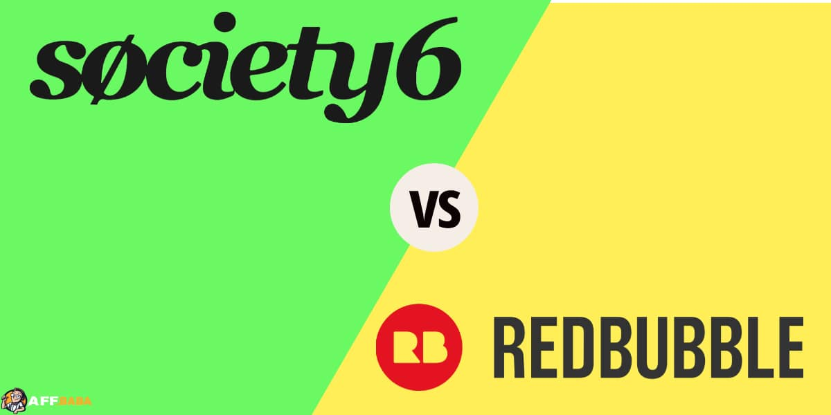 Society6 vs. Redbubble